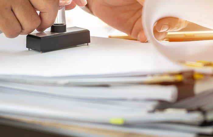 timbro documenti certificazione vigilanza hermes