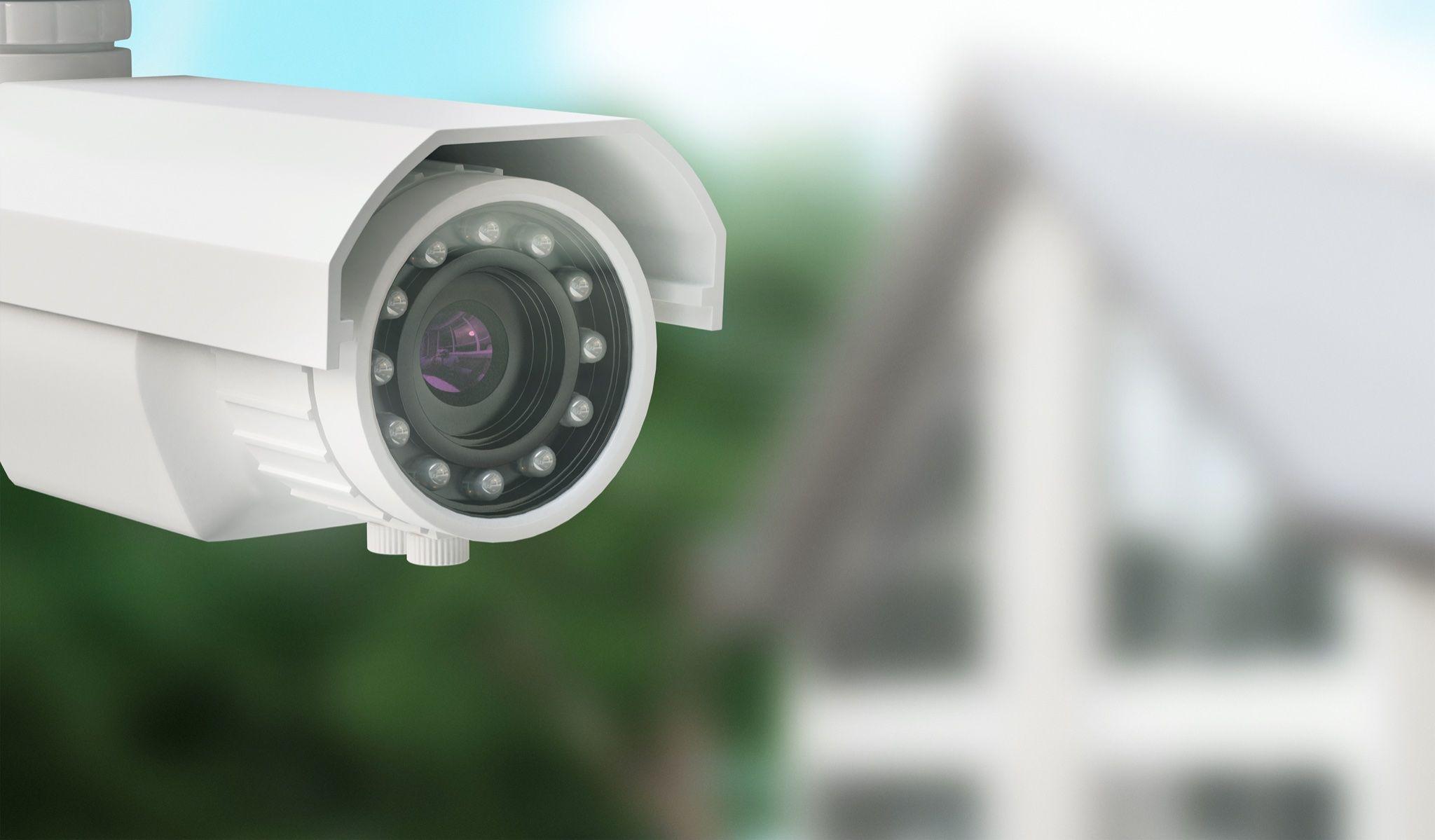 telecamera di videosorveglianza per la casa di vigilanza hermes